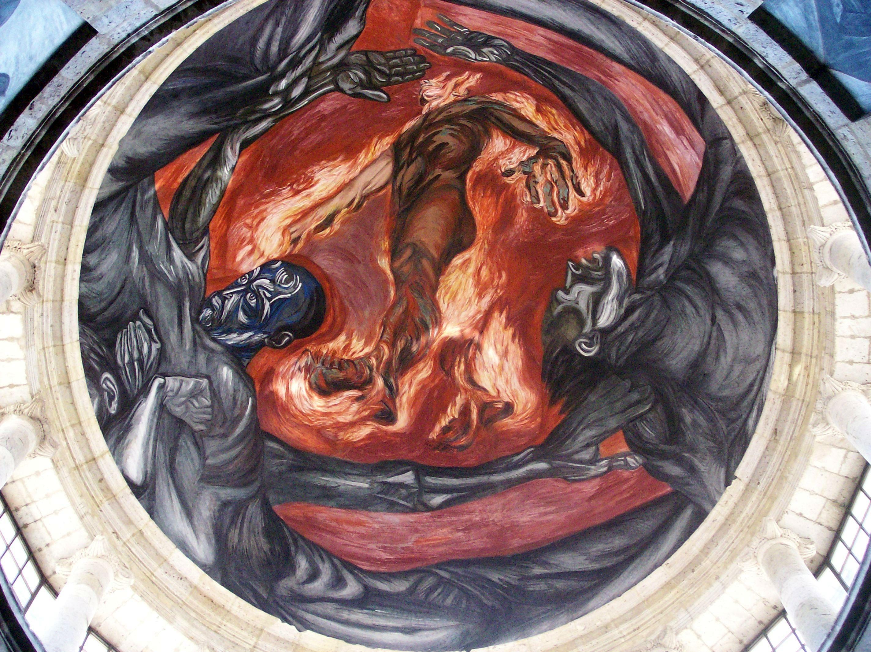 Mural en el Hospicio Cabañas
