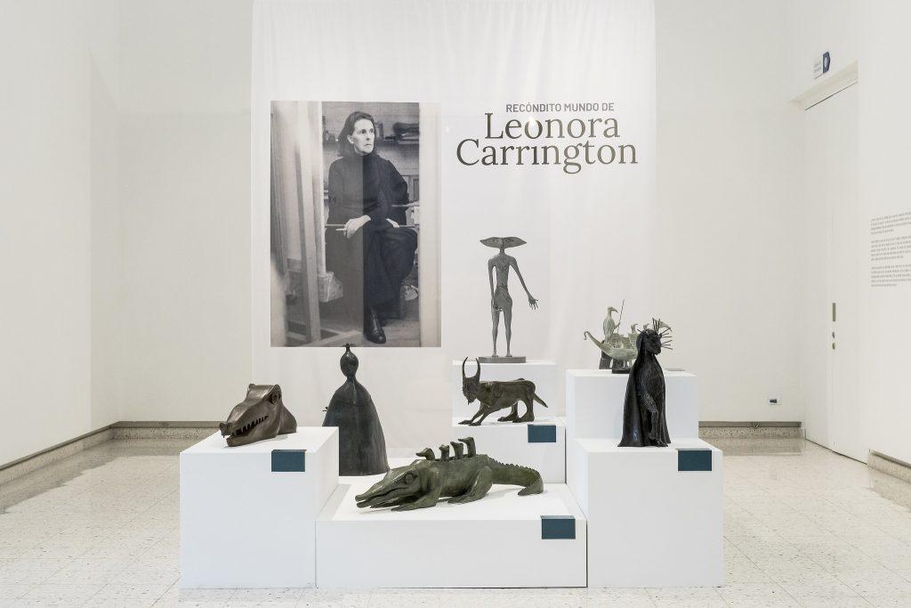 Leonora Carrington en el MUSA