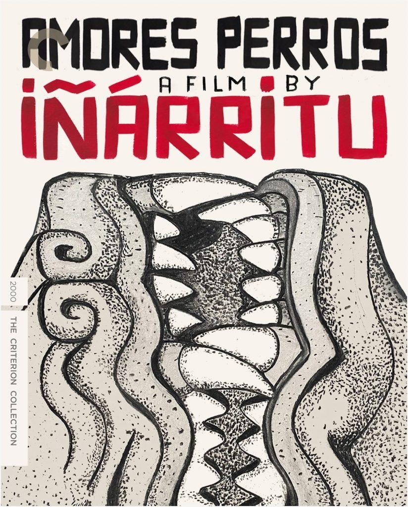 Póster de la película de Iñárritu, Amores Perros.