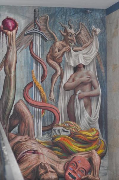 Alegoría del Teatro de México, Teatro Experimental de Jalisco