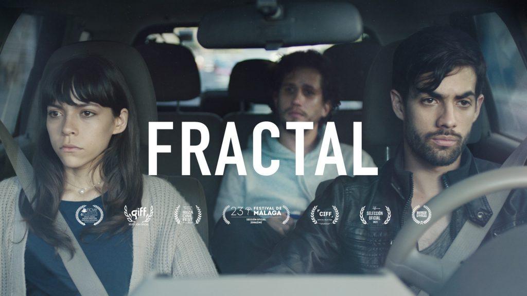 Poster oficial película Fractal