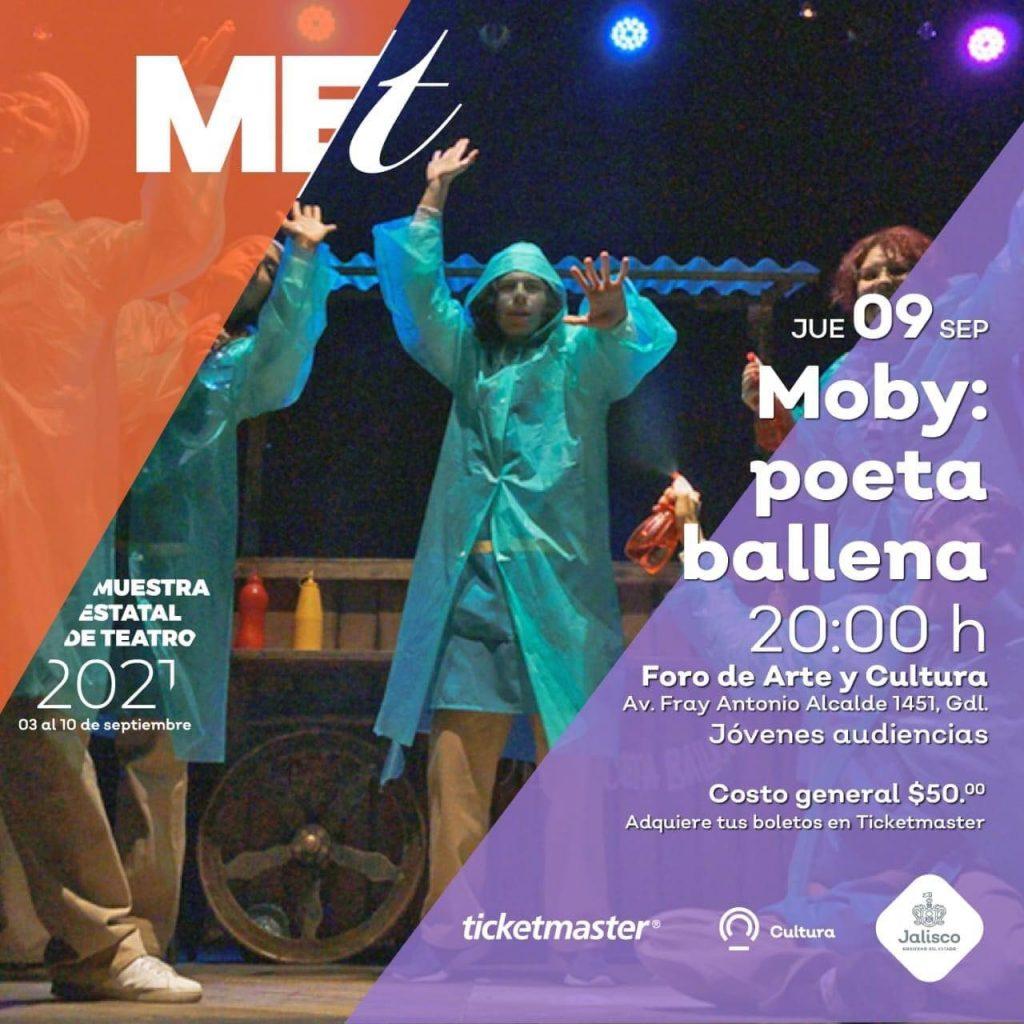 Moby Poeta Ballena MET