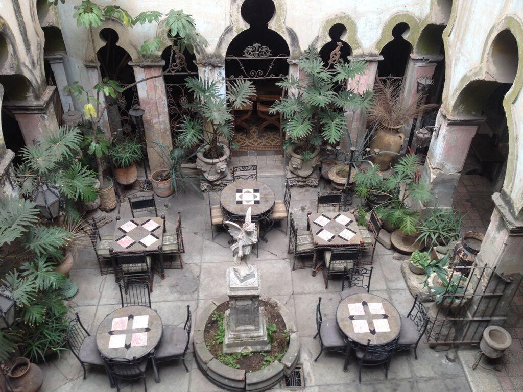 Interior de El palacio de las Vacas