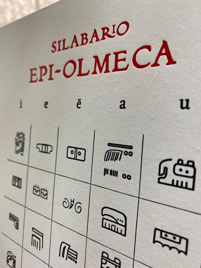 silabario epi-olmeca